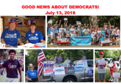 The Good News About Democrats — July 13, 2018