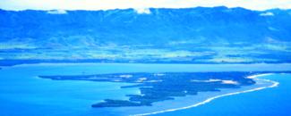 Photo of Caribe coast and horizon