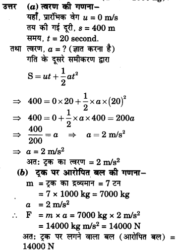 NCERT Solutions for Class 9 Science Chapter 9 (Hindi Medium) 4