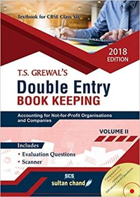 TS Grewal Accountancy Class 12 Solutions 2018 Volume 2