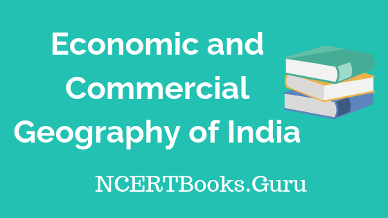 Old NCERT Economic and Commercial Geography of India