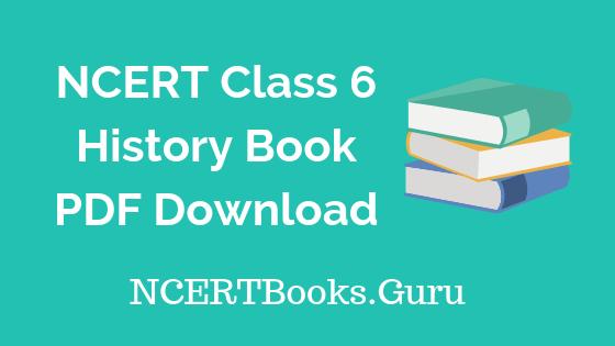 NCERT Class 6 History Books PDF Download
