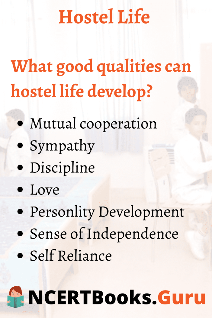 Qualities Hostel Life can Develop