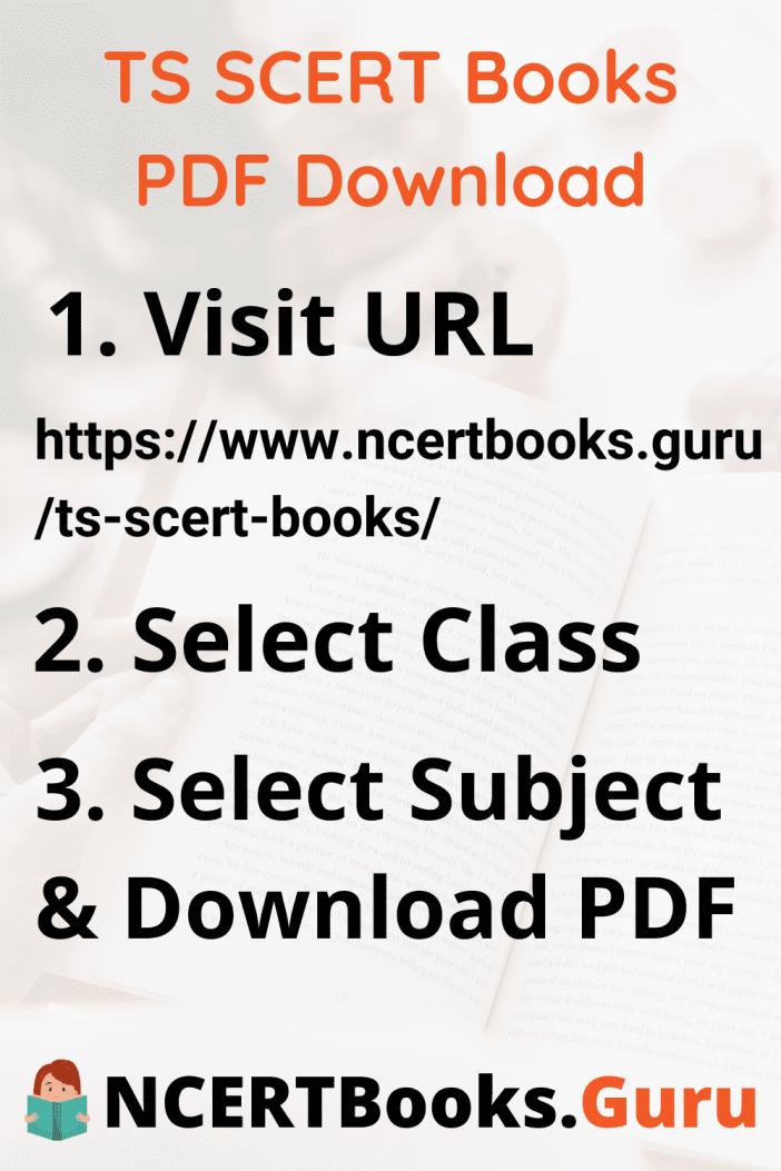 TS SCERT Books PDF Download