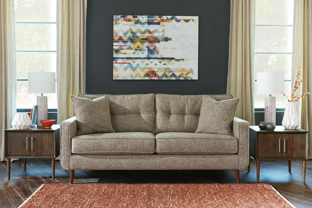 Sofa Set Jute Fabric