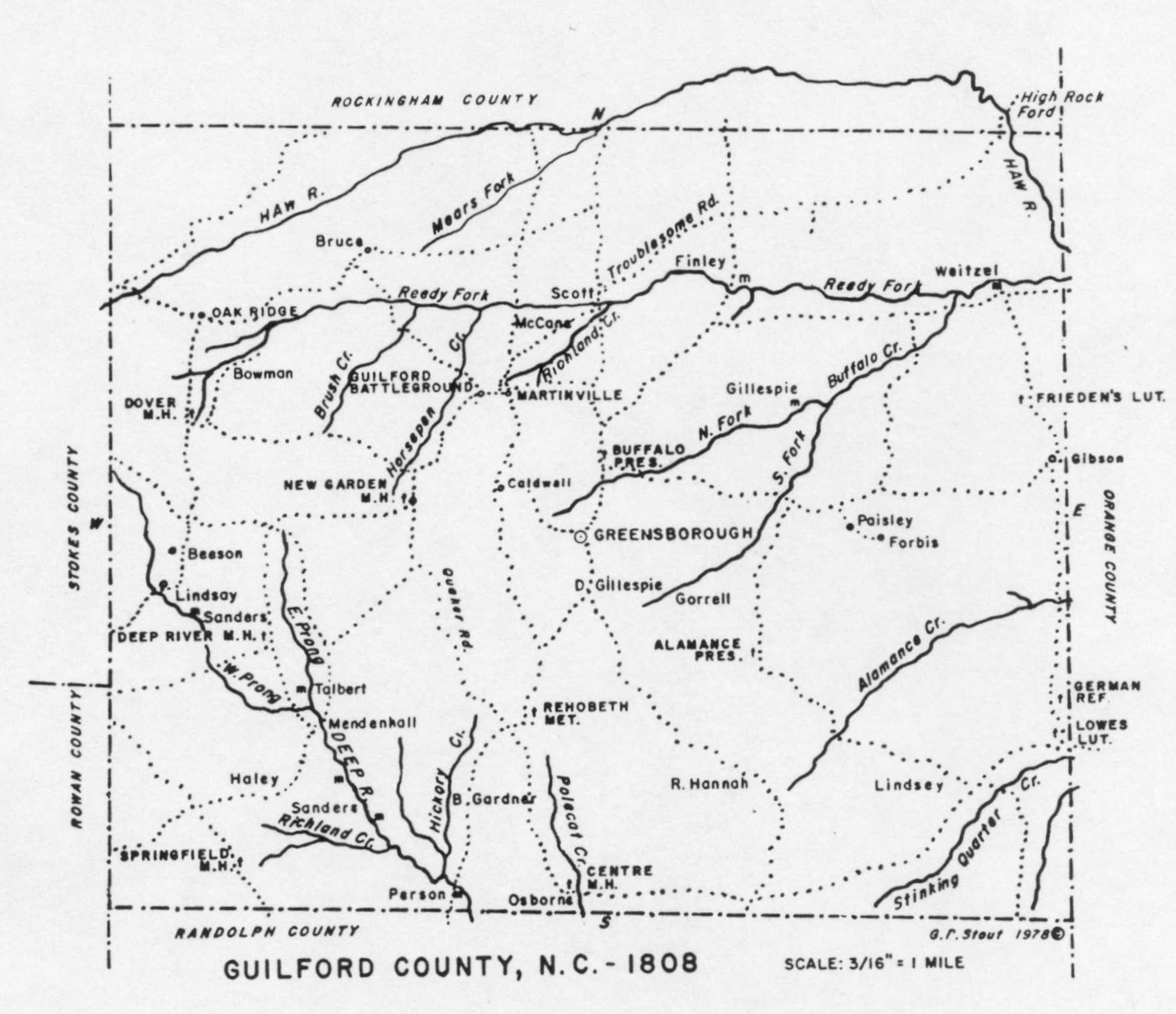 Guilford County Nc Quaker Families