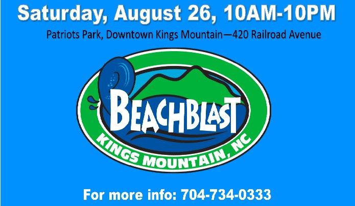 Kings Mountain 2017 BeachBlast