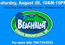 Beach Blast Kings Mountain NC