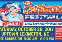 Lexington North Carolina Barbecue Festival 2017
