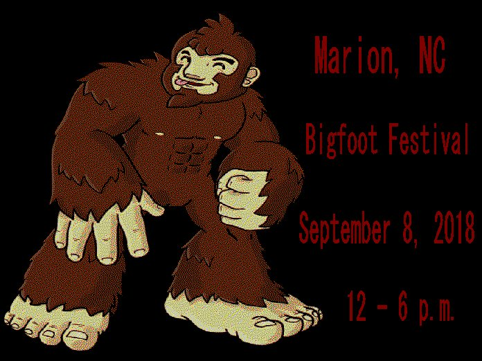 Marion NC Bigfoot Festival