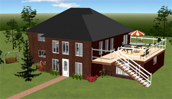 Download Home Design Software Free  3D House and Landscape Design  Download DreamPlan Home Design Software