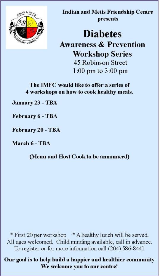 Diabetes Cooking Classes 2014