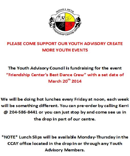 Youth Advisory Poster