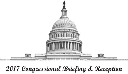 2017 Congressional Briefing and Reception Logo - US Capitol Building