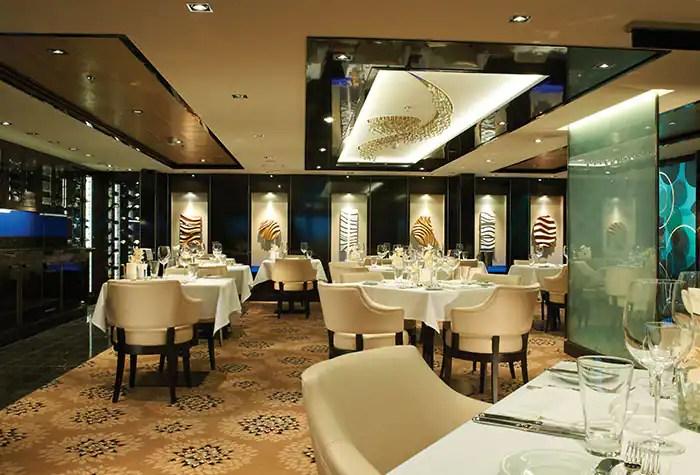 ノルウェージャンクルーズライン ザ・ヘブン レストラン The Haven Restaurant