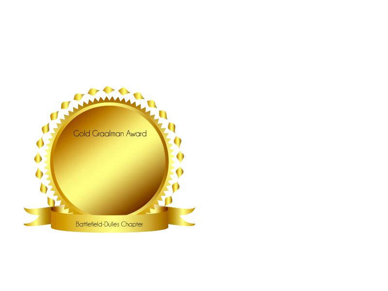 Battlefield-Dulles Chapter is a Gold Graalman Award Recipient!