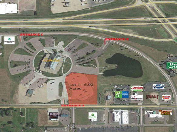 601 cabela dr mitchell land for sale