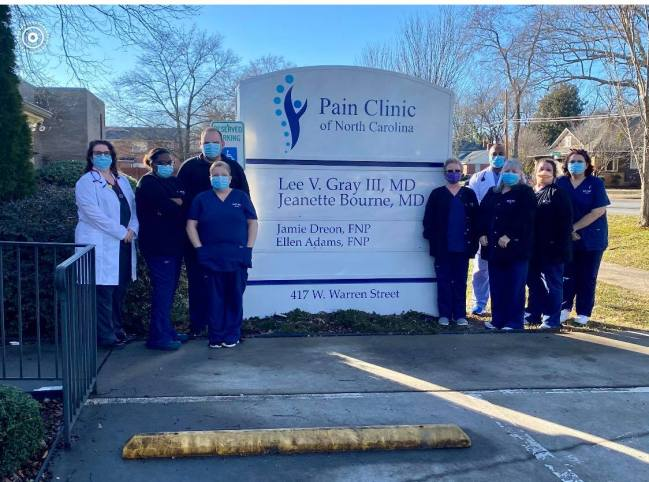 Pain Clinic of NC Gives Back