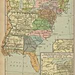 Map Of The United States 1783 1803 Showing The State Of Franklin Ncpedia