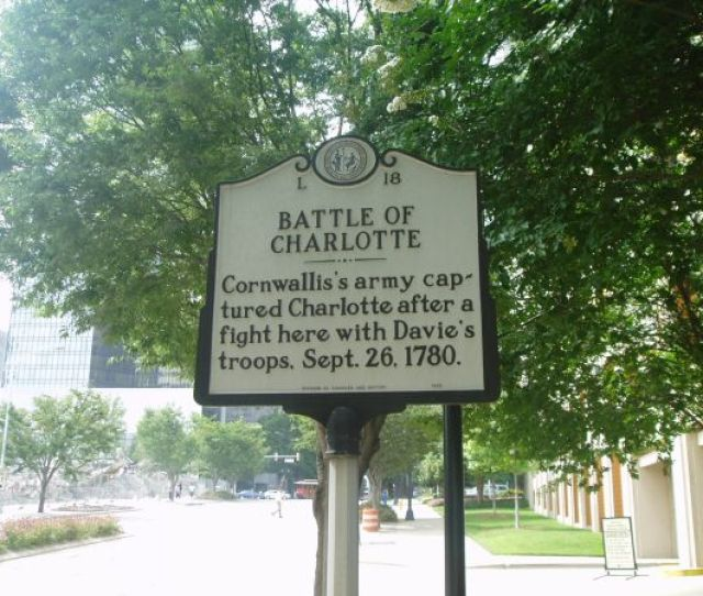 Charlotte Battle Of Ncpedia
