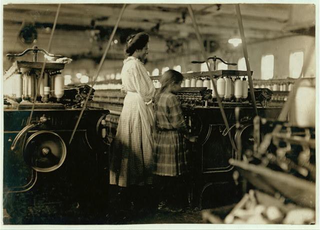 Worker Industrial Textile Revolution Factory