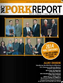 NC Pork Report - Spring 2014