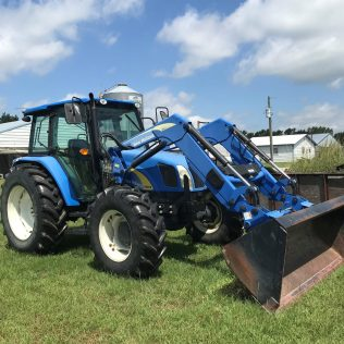 It's important to check that tractors and equipment are available and in good working order for emergencies. Some farmers may park equipment in the middle of their fields, on high ground, to guarantee that they are easily accessible after a storm, and to prevent damage from fallen trees or power lines.