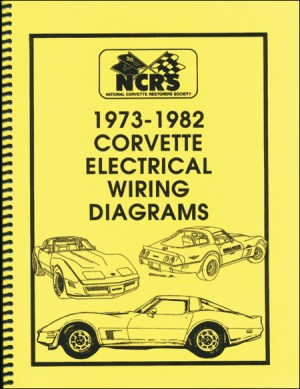 Corvette 197382 Electrical Wiring Diagrams  $1995
