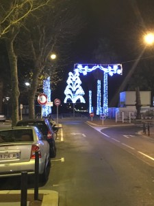 Antibes holiday lights