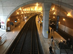 Train station in Monaco