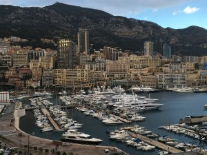 The view of Monaco