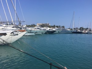 Yachts in Port Vauban - Antibes