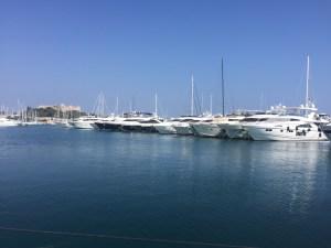Yachts in Port Vauban - Antibes