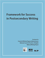 Framework for Success in Postsecondary Writing