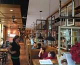 Dining room at Tupelo Honey Cafe