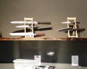 Knifes on display