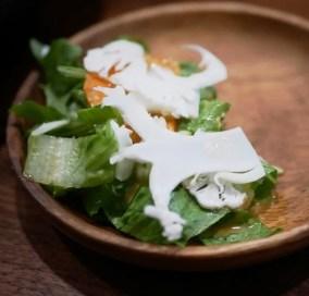 Salad at M Tempura