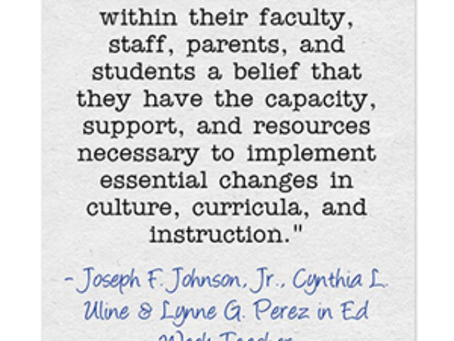 Education Week Article Quote