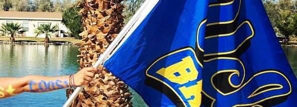 UCLA Water Ski Flag