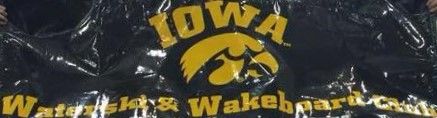 Iowa Water Ski Team Banner