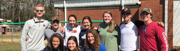 Auburn Water Ski - 2017 The Big Event Community Service Project