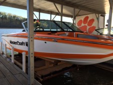 Clemson University Water Ski Team 2017 Boat