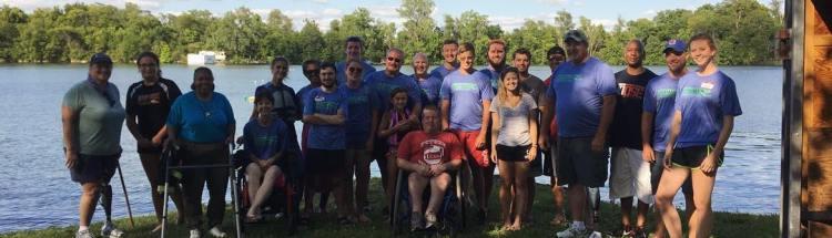 University of Cincinnati Water Ski Team at Ampuski