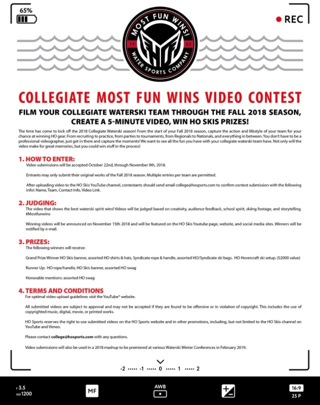 video-contest-flyer – National Collegiate Water Ski Association