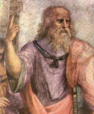 Raphael - Plato (in the School of Athens, Vatican City)