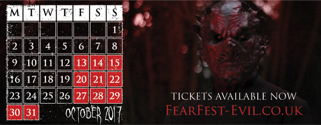 Diving & Activity Times During FearFest-Evil