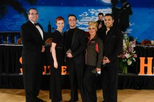 Southern Heat Ballroom Championships 2015 National Dance Clubs Top Teacher in Town- 1st Brandon Hardison Top Teacher in Town- 2nd Chrischianna Vigil Top Teacher in Town- 3rd Christian Montos