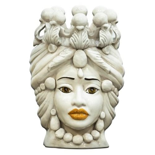 Teste di Moro di Caltagirone in ceramica