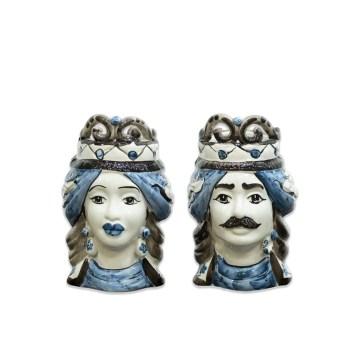 coppia di teste siciliani