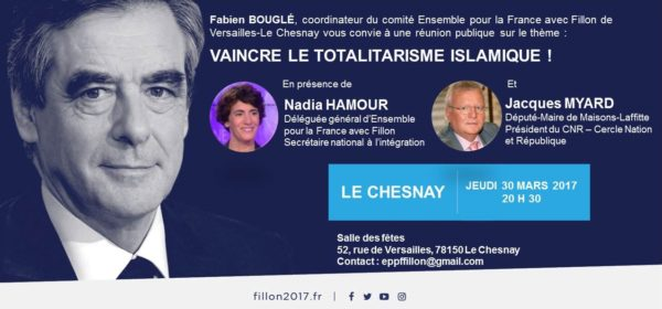Invitation Le Chesnay Fillon